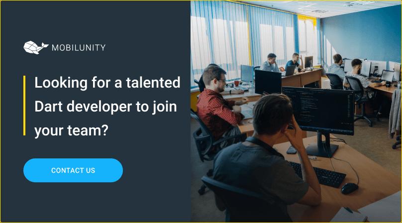 hire a dart flutter programmer at mobilunity