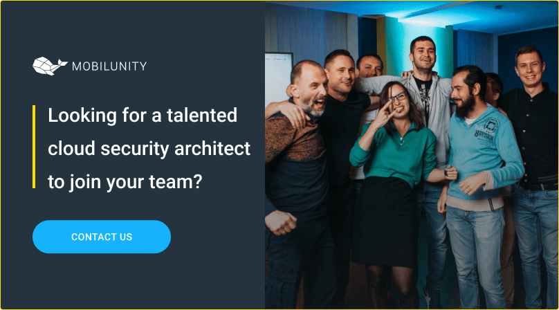 hire cloud security architect at mobilunity