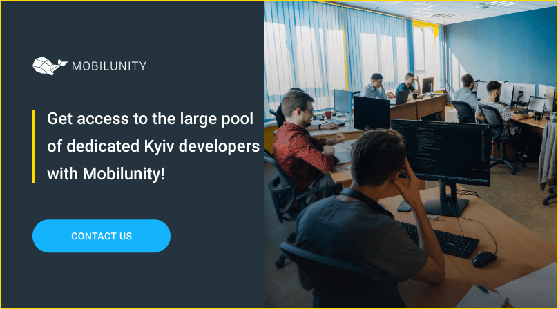 hire kyiv developers at mobilunity