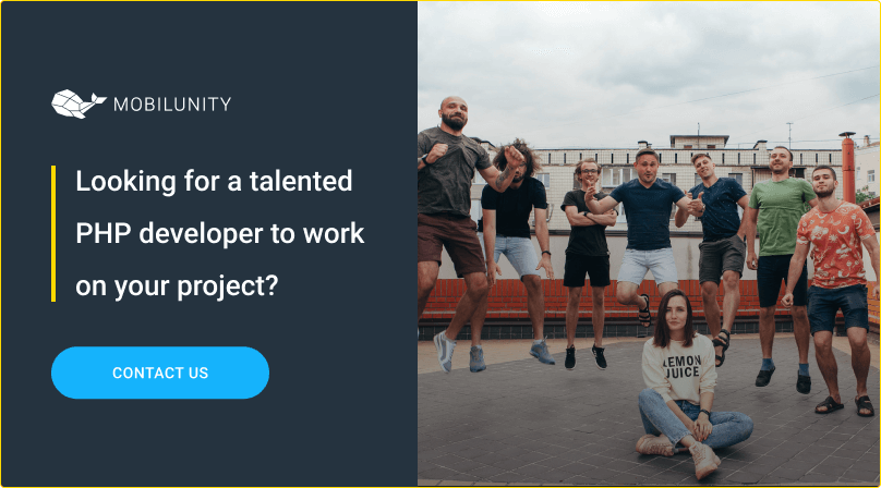 hire remote dedicated php developer at mobilunity