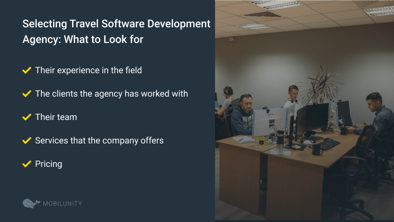 how to choose travel software development services provider