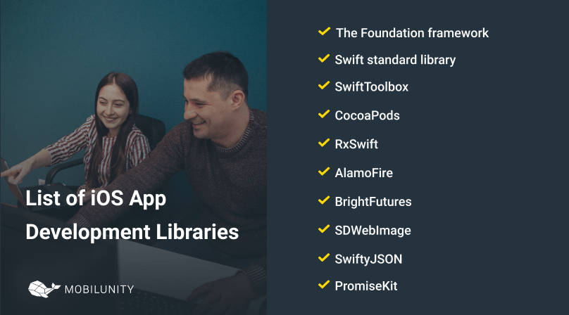 list of popular ios app development libraries