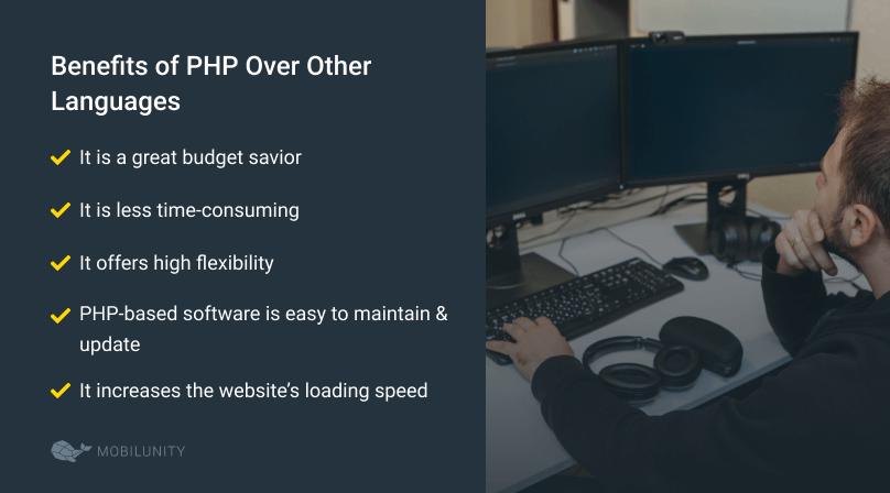 php programming language benefits