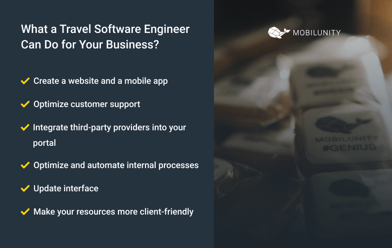 reasons to have in your team a travel software engineer