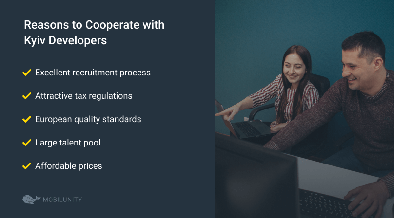 reasons to hire and work with kyiv developers