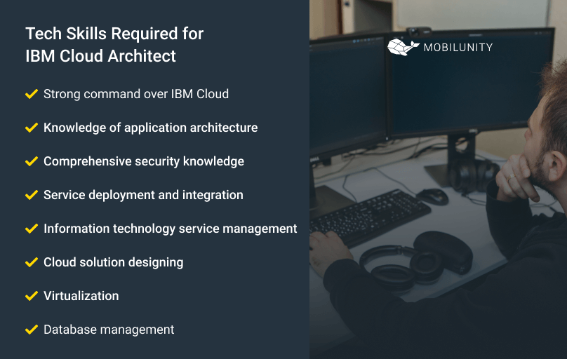 skills required for ibm certified cloud architect