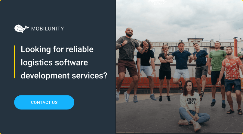 software development for logistics at mobilunity