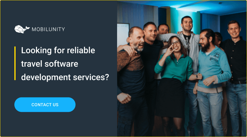 travel software development services at mobilunity