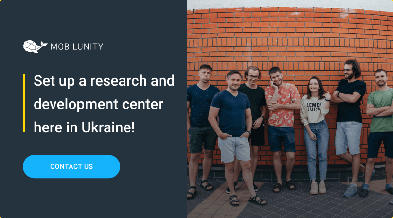 build research and development center with mobilunity