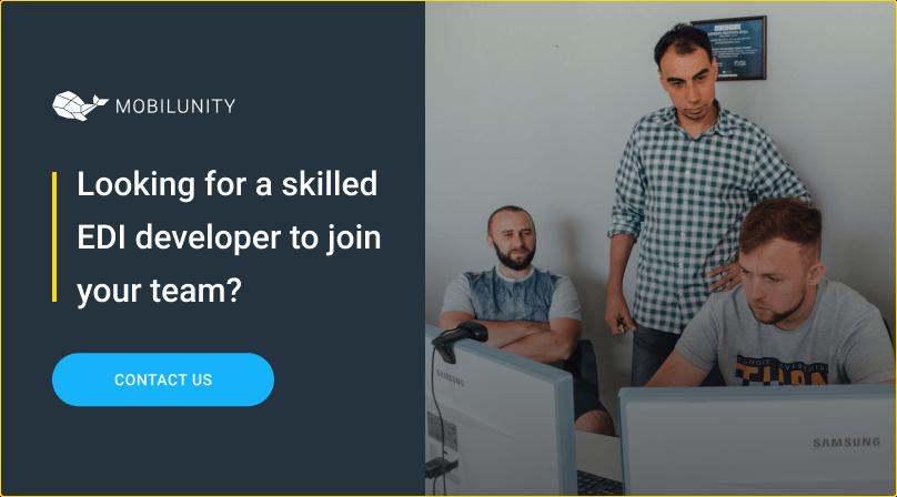 hire EDI developer at mobilunity