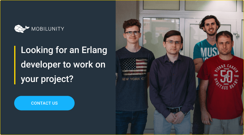 hire erlang developer at mobilunity