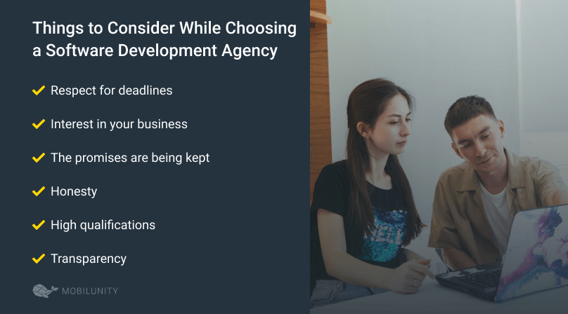things to keep in mind while selecting software development agency