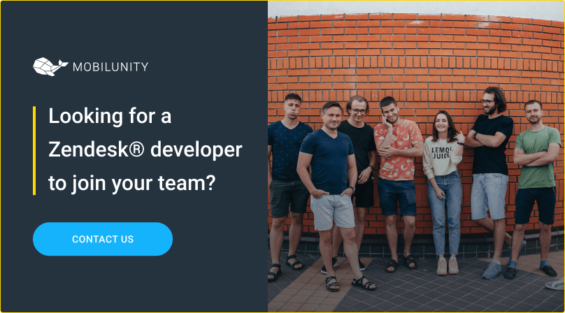 hire zendesk developer at mobilunity remotely