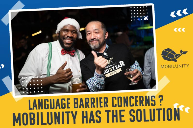 Language Barrier Concerns? We Have the Solution