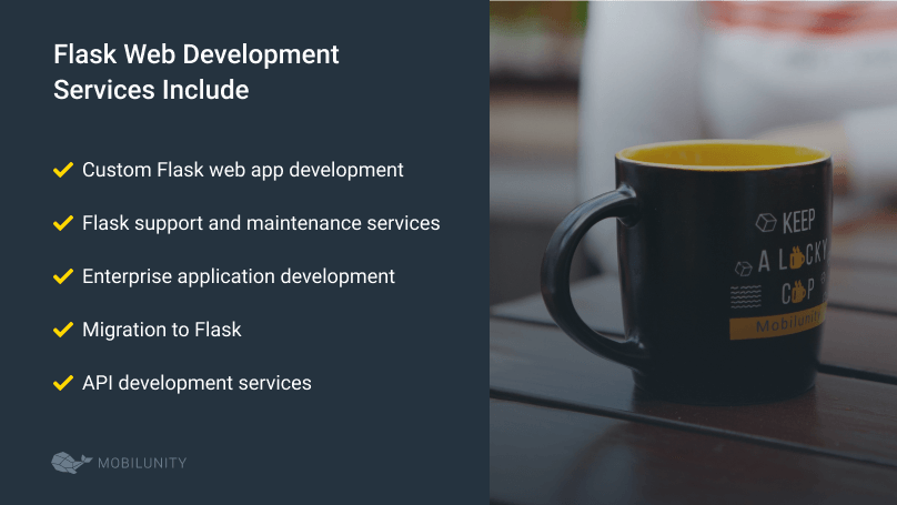 list of flask development services