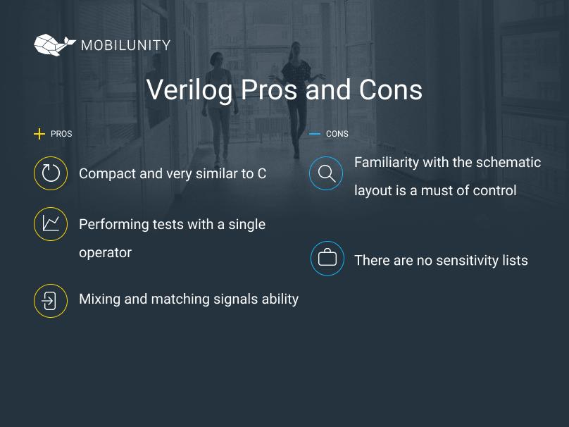 verilog benefits and limitations