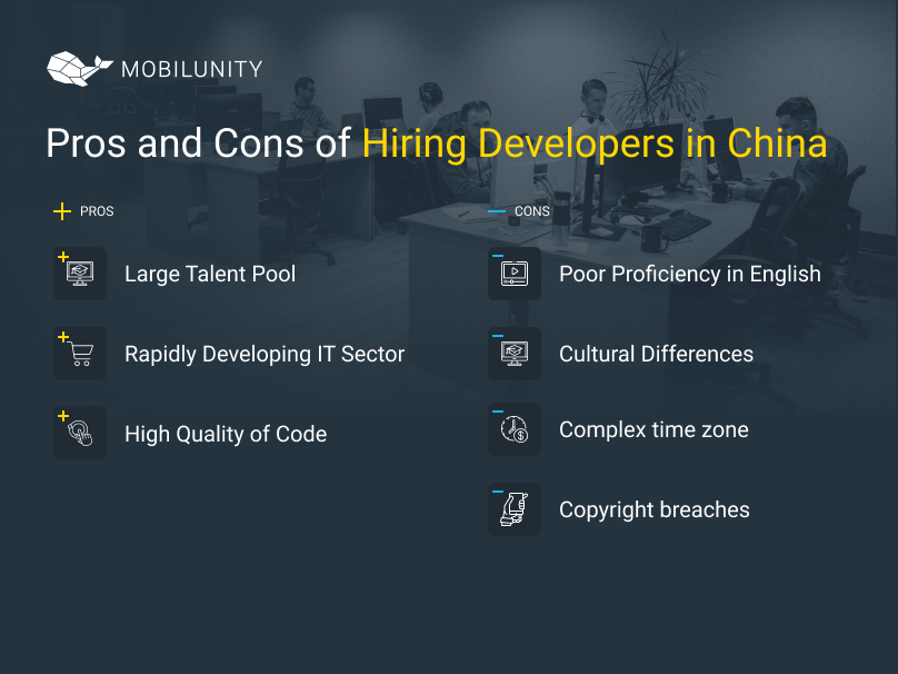China developers for hire: pros and cons