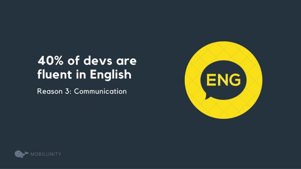 English in nearshore programming