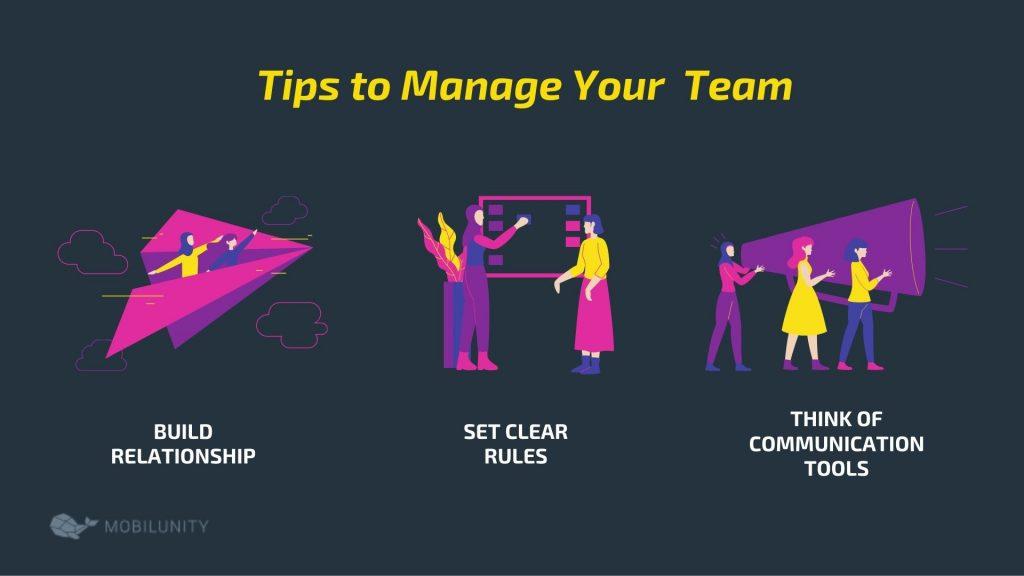 software development organizations tips