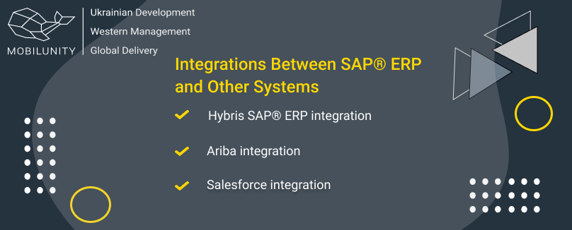 Integrations Between SAP® ERP and Other Systems