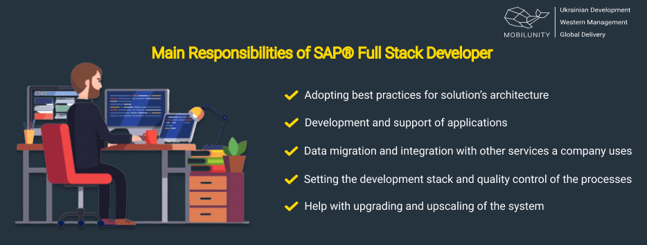 Learn  general SAP Fiori Responsibilities