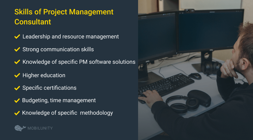 project management consulting services