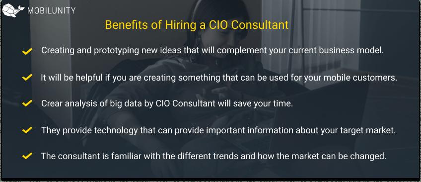 Benefits of Hiring a CIO Consultant