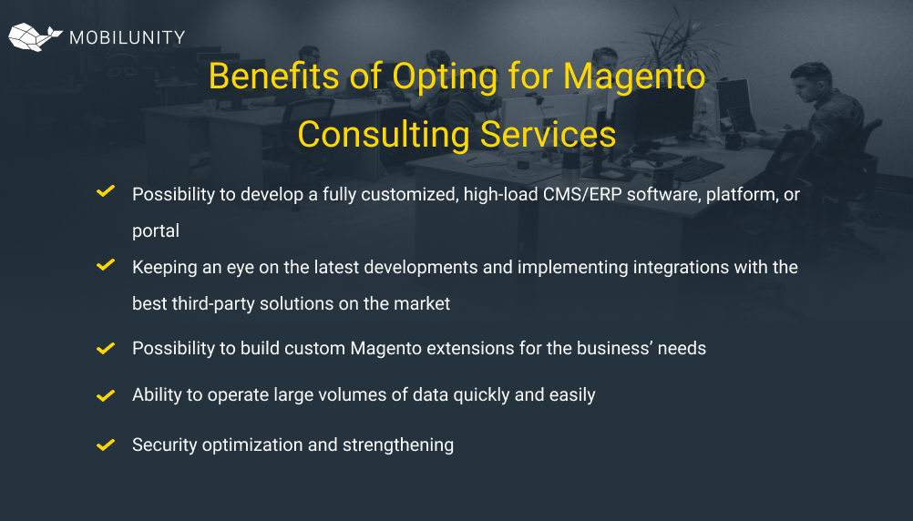 Benefits of Opting for Magento Consulting Services