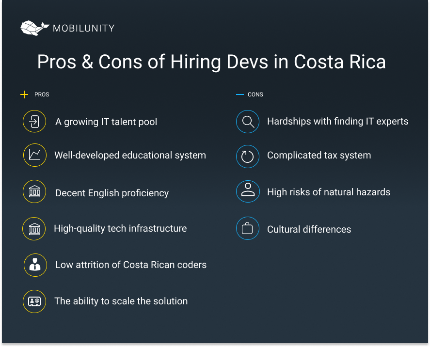 Pros & Cons of Nearshore Software Development Сosta Rica