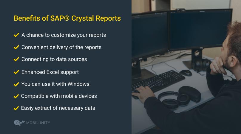 sap crystal reports perks