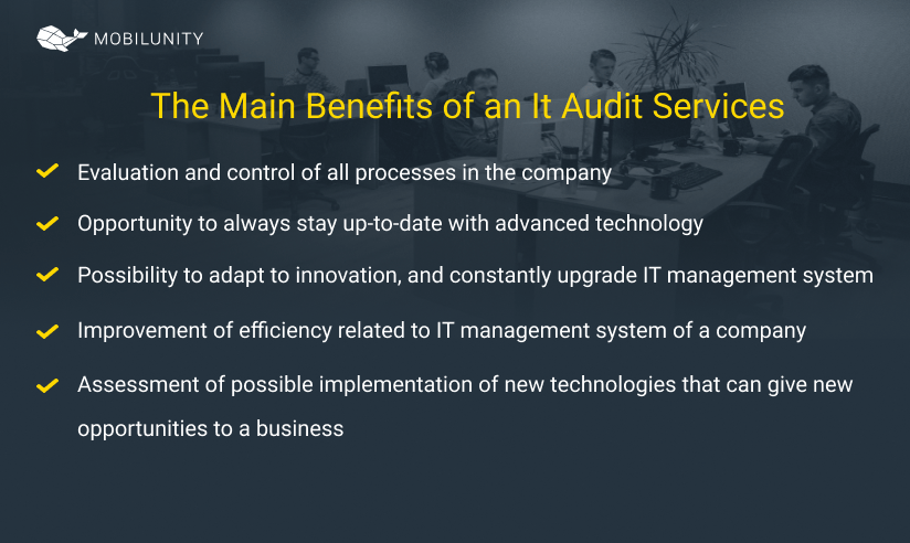 benefits of it audit services