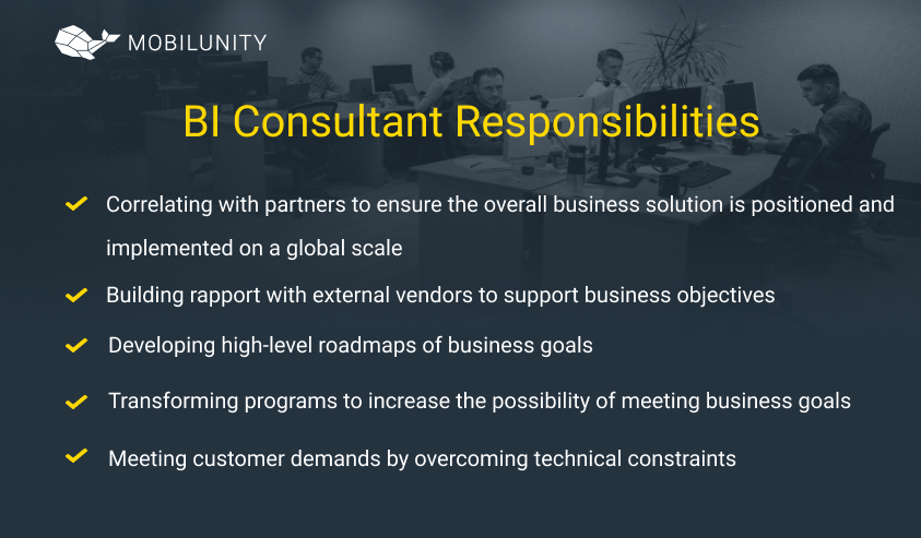 business intelligence consulting