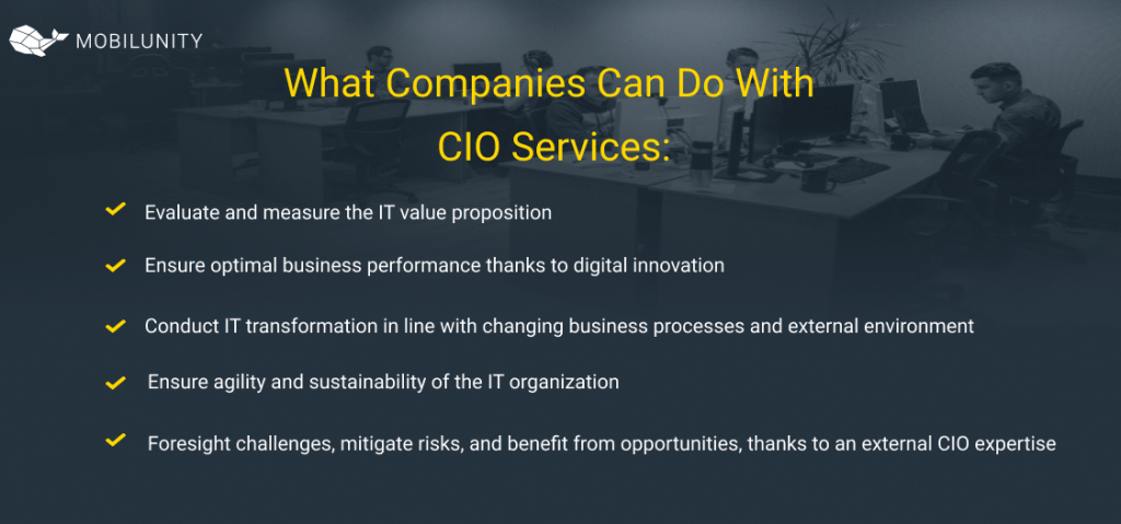 What Companies Can Do With  CIO Services