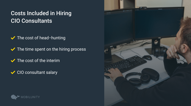 Costs Included in Hiring CIO Consultants