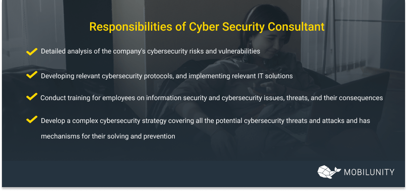 software security consultant responsibilities