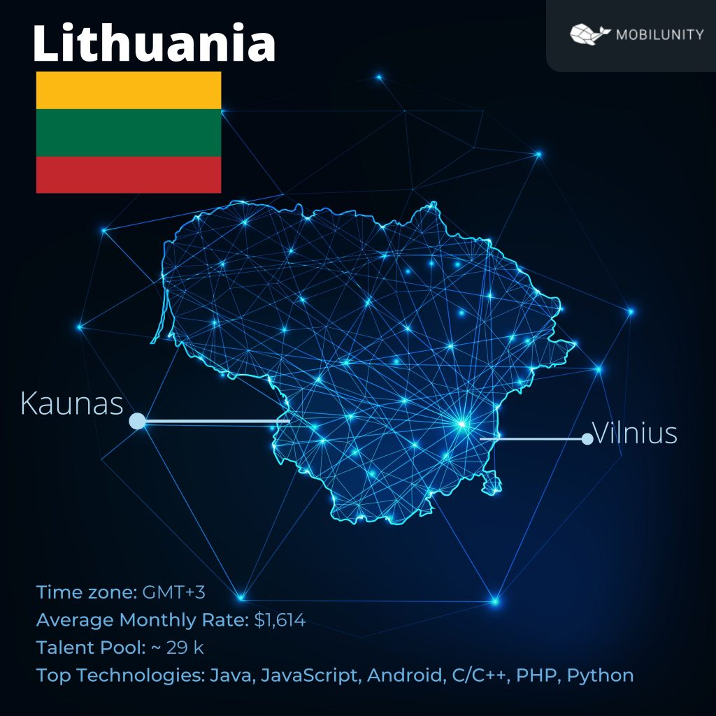 Outsource IT Services to Lithuania