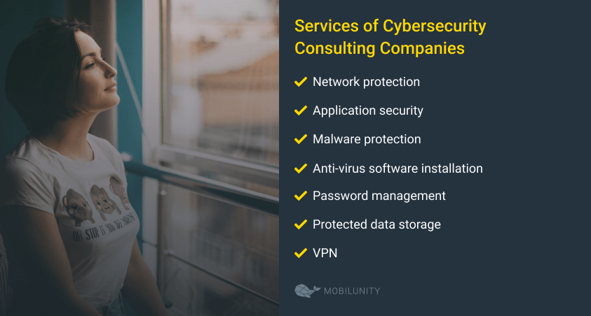 Services of Cybersecurity Consulting Companies