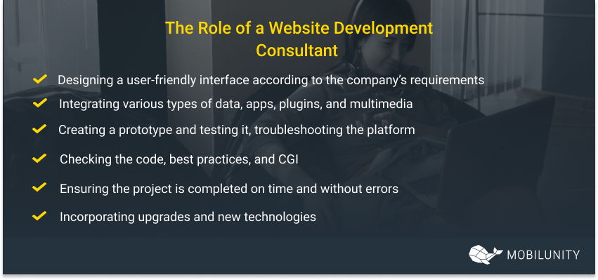 The Role of a Website Development Consultant