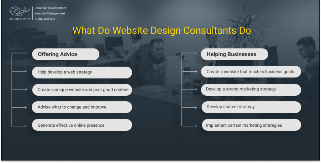 consultant website designer