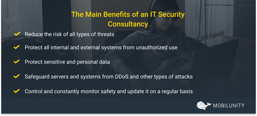 cybersecurity consulting benefits