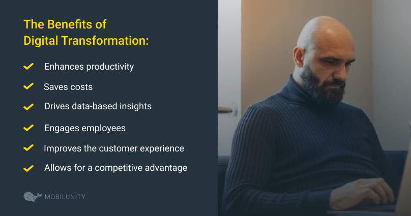 digital transformation services benefits