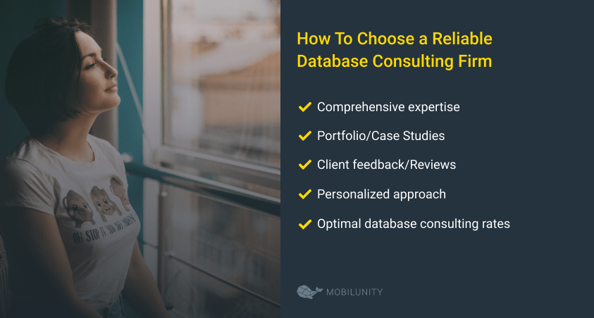 how to choose consulting service database