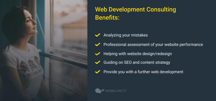 web development consulting benefits