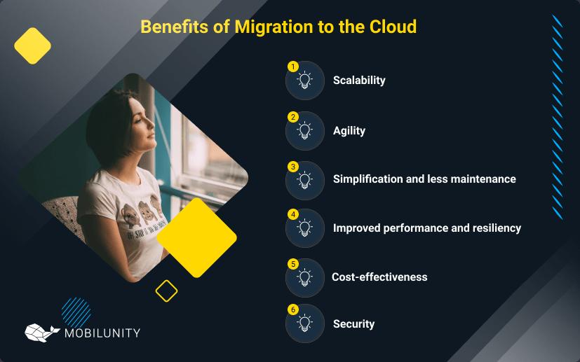 cloud data migration services benefits