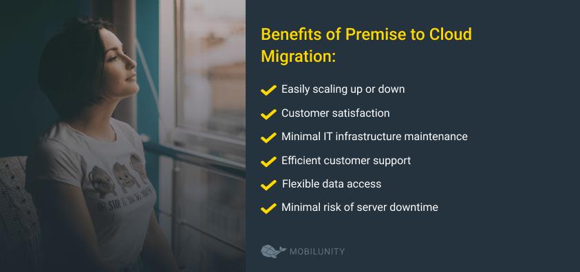 on prem to cloud benefits