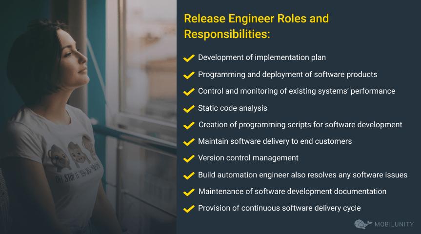 release engineer responsibilities