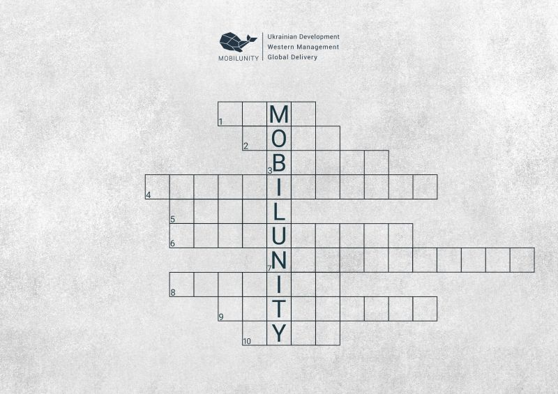 Know More About Nearshoring by Solving the Crossword Prepared by Mobilunity's CEO