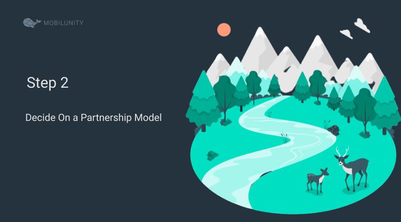 partnering software step 2