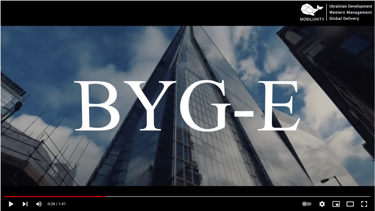 The Story About One of Our Cool Clients - BYG-E