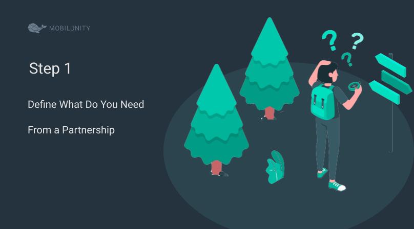 partnering software step 1